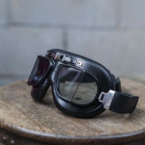 Flying Tiger Vintage Motorcycle Goggle