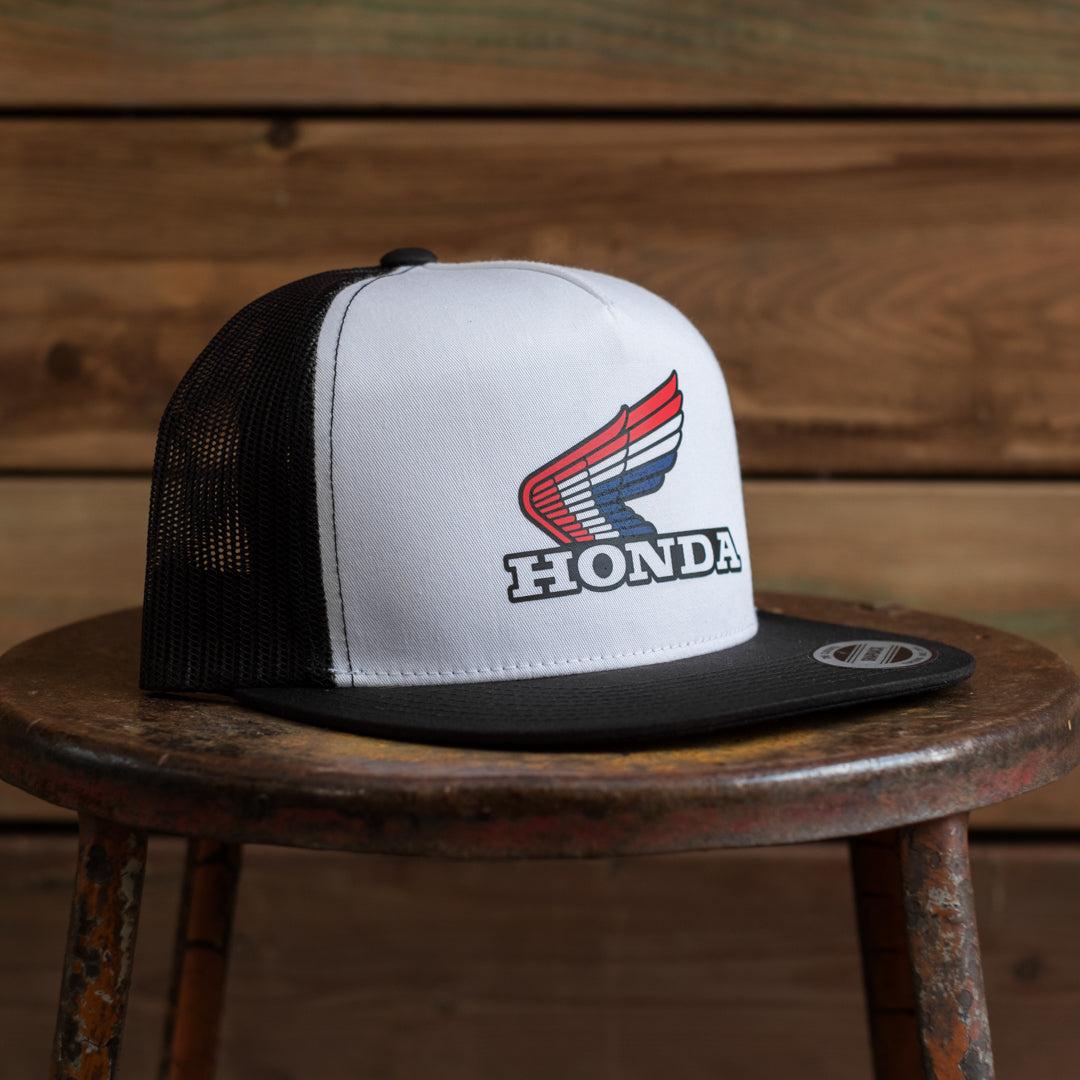 factory effex x honda official vintage logo hat town moto. Black Bedroom Furniture Sets. Home Design Ideas