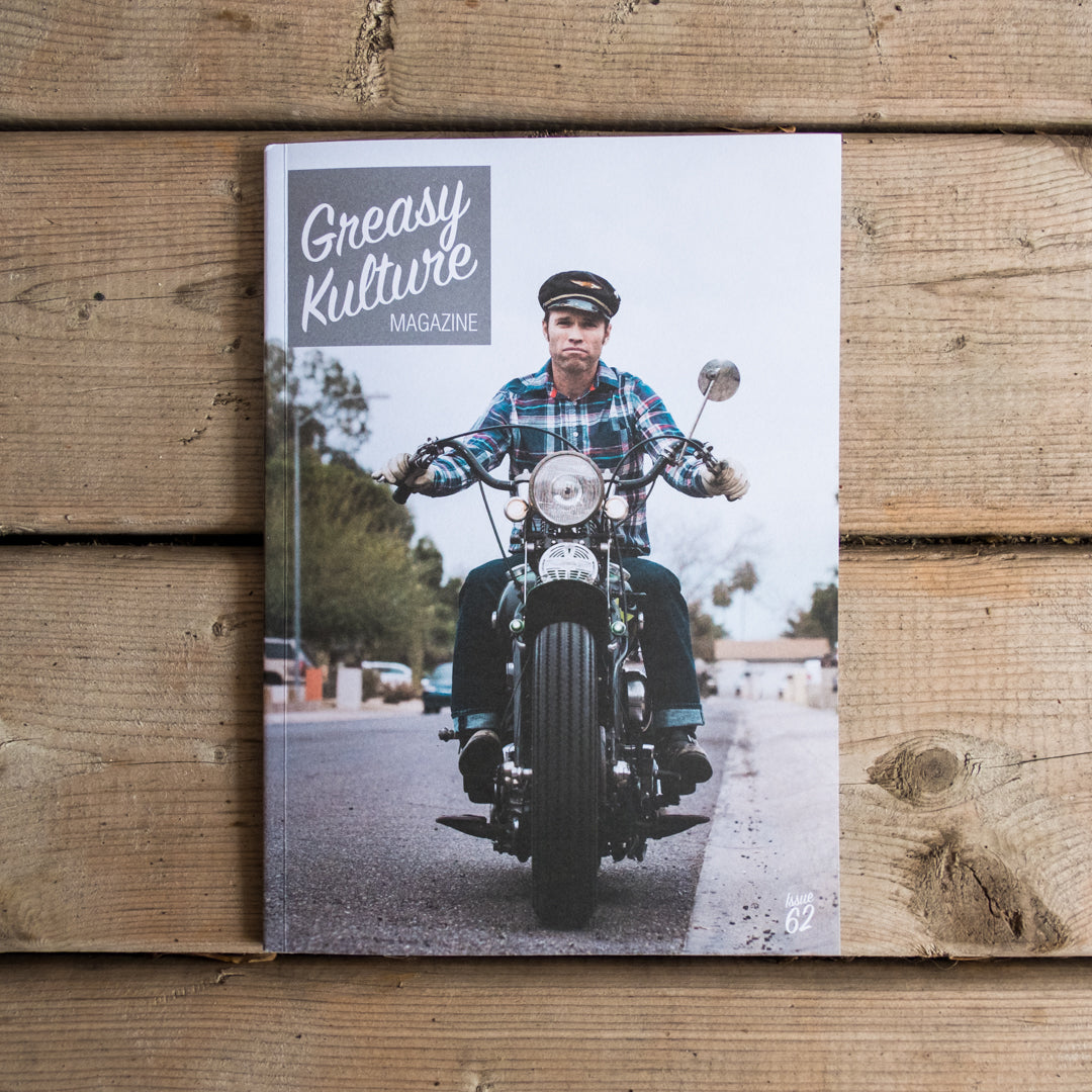 Greasy Kulture Magazine Issue 62 Town Moto