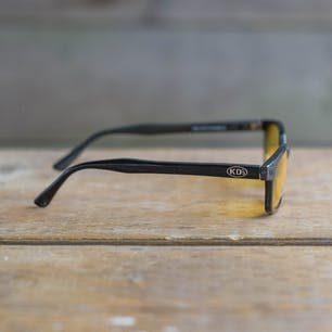 KD's XL Glasses, Yellow Tint