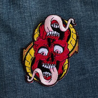 Reflection Skull Patch