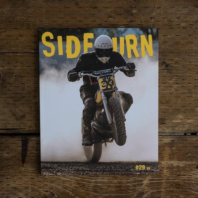 Sideburn Magazine Issue #29, cover photo