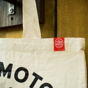 Town Moto Address Tote