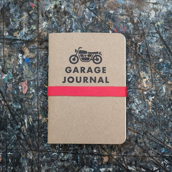 Town Moto Garage Journal - 3 Pack