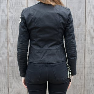 Vanson Womens Mota Jacket Back
