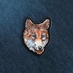 Wolf Head Patch