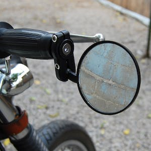 "Classic Bar End Mirrors - 7/8"" Fitment"