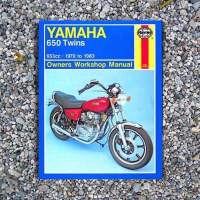 Haynes Manual, Yamaha 650 Twins 70-80