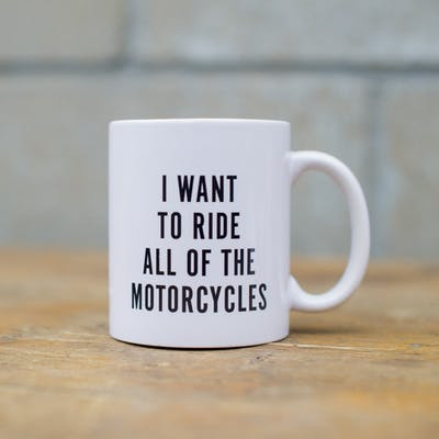Town Moto Mug - All of the Motorcycles