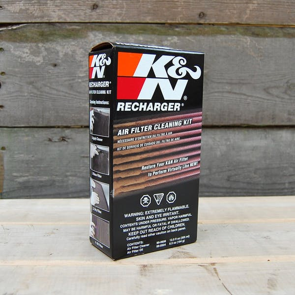 K&N Air Filter Recharger & Cleaner Kit
