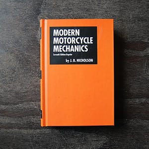 Modern Motorcycle Mechanics Book