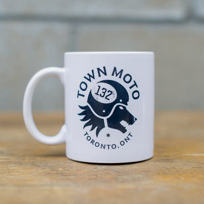 Town Moto Mug - #1 Good Boy, White