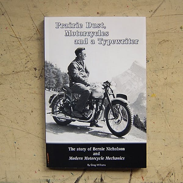 Prarie Dust, Motorcycles and a Typewriter
