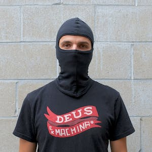 Balaclavas, Full Face Cotton Balaclava, Black
