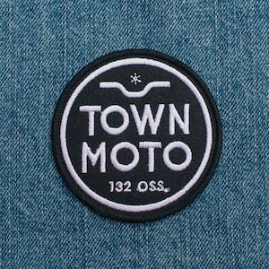 Town Moto Circle Patch