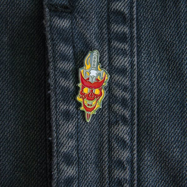 Devil Sword Pin